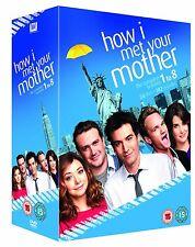 HOW I MET YOUR MOTHER 1-8 THE COMPLETE SEASON 1 2 3 4 5 6 7 8 DVD ENGLISCH