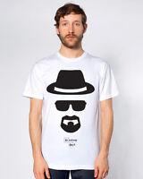 Breaking Bad Heisenberg Walter White TV  T-Shirt - Jesse Mr White Top Tee New