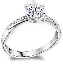 925 Sterling Silber Ring - Zirkonia Ringe Damenring Geschenk Silberring Design