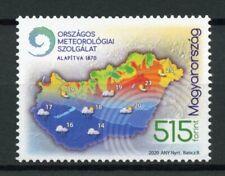 Hungary Science Stamps 2020 MNH Met Meteorological Service Meteorology 1v Set
