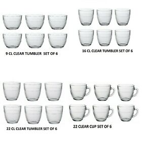 Duralex - Gigogne - Clear  Glass Cups/ Tumblers