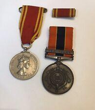 More details for national fire brigades association medals long service & l service bronze