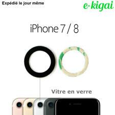 Vitre Lentille Caméra pour IPHONE 7 / 8 Apple verre photo arrière + Adhésif