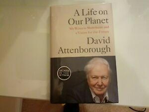 SIGNED SIR DAVID ATTENBOROUGH (A Life on our planet ) mint
