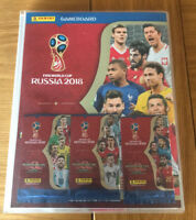 Panini Fifa WorldCup 2018 Russia Full Binder with 31 Limited Editions +Limiteds