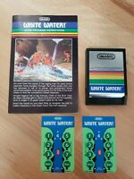 Intellivision White Water Intellivision Cart, Manual & Overlays Tested/Working