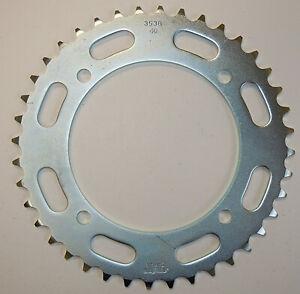 SUNSTAR REAR SPROCKET STEEL 42T Fits: Yamaha XT600,XT550,XV250 V Star 250,XV250,