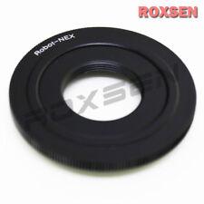 Robot Vis Lentille Pour Sony E Mount Adapter NEX-7 5 T A6000 A7 A7R A5100 plaque plane