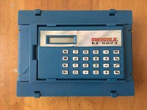 Computer Warriors Calculator Techno-tank Mattel