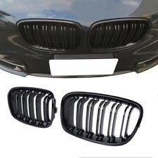 Gloss Black 2011 - 2014 BMW F20 F21 1 Series Sport Kidney Twin Flns Grill Grille