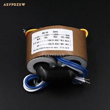 115V/230V 30VA Dual 18V R type transformer With shielded wire output 30W 18V+18V