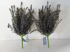 Confezione di 2 Heather ARTIFICIALE BUSH-Viola - 30cm-Impianto di Heather