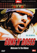 Guns N' Roses: Welcome To The Videos (1998) DVD *NEW dts