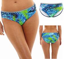 Abbigliamento Blu Floreale per il mare e la piscina da donna