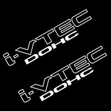 CSK i-VTEC DOHC STICKER VINYL DECAL VEHICLE CAR WALL LAPTOP 1 SET OF 2