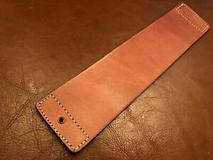 """12""""x3"""" Razor-Knife-Sharpening Tool Real Cowhide Leather Strop- Barbers-P2"""
