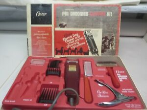 Vintage Oster  Dog Groomer Clipper Set Model 223