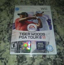 ⛳ Tiger Woods PGA Tour 11 (Nintendo Wii, 2010)  NEW! Factory Sealed! SHIPS FREE!