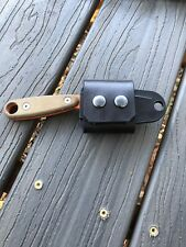 ESEE IZULA 2 leather Horizontal Carry Scout Strap  (No Knife or Sheath) BLACK
