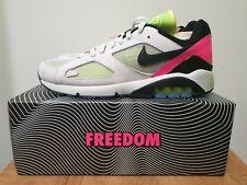 Nike Air Max 180 Berlin / BLN - Platinum / Black / Hyper Pink - UK 10 / US 11