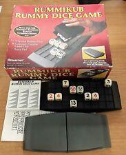 RUMMIKUB RUMMY DICE GAME Pressman 1995 Complete VGC Portable Unit FREEPOST