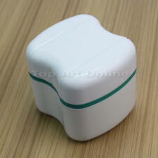 Dental Orthodontic Retainer Denture Bath Mouthguard Storage Washing Box Case