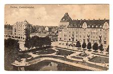 Centralpalatset - Orebro Photo Postcard 1921 / Sweden