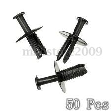 50x Front Rear Bumper Fastener Trim Clips For BMW E34 E36 E46 X3 X5 #51118174185