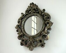 Rococo Style Circular Wall Mirror