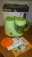 Beaba Babycook Babyfood Steamer Cooker Blender Maker Healthy Recipes Electric