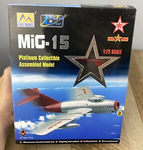 Easy Model Aircraft Model 1/72 MiG-15 Chinese Air Force Red Fox 37131