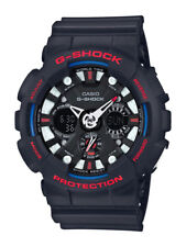 Casio g-shock reloj ga-120tr-1aer analogico, digital negro