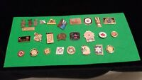 Lot of 27 Special Olympics pins clutch backs  teams Real Coaches, Sports, Teams