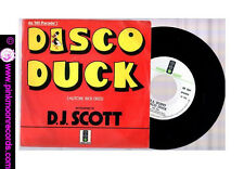 "D.J.SCOTT DISCO DUCK (RICK DEES ) + TAKE IT 1976 GREEN LIGHT 7""45 GIRI"