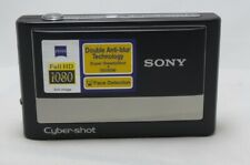 Sony Cybershot DSC-T20 8MP Digital Camera 3x Zoom/Super Steady Shot - Black