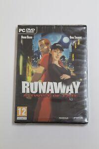 RUNAWAY A Twist of Fate. PC Juego. Idioma Frances, Nuevo y precintado.