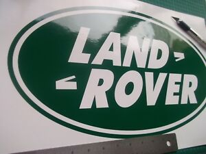 Land rover Defender Discovery oval Stickers Decals ..Large..........x1......