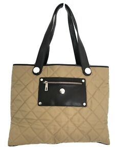 Original Knomo Bag For Ladies, Padded, Mustard Colour With Brown Details