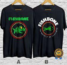 Fishbone Alternative Rock Band T-Shirt Cotton 100% Shrt Slve S-4XL Fast Shipping