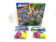 Froggy Hop Sprinkler Game Outdoor Water Play Banzai 200 Water Balloons Included