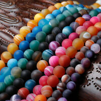 Wholesale Gemstone Natural Round Spacer Loose Beads Lot 4mm 6mm 8mm 10mm 12mm