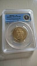 2009-P - John Tyler - $1 Dollar, ANACS Certified MS67, limited edition