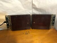 Vintage VV-IX Victor Victrola Table Top Phonograph Part Doors w/hinges
