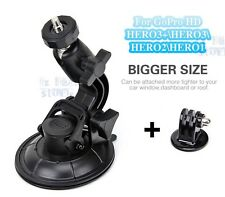 GoPro Car Suction Cup Holder Windscreen Window Hero 1 2 3 3+ 4 5 Action Camera