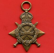WW1 Medal Great Britain 1914 - 1915 Star Named 2.CPL.J.E.SPURLING, R.E.