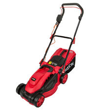 More details for excel 1500w electric wheeled rotary lawnmower 36cm garden grass cutter 240v