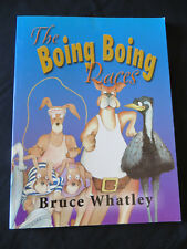 The Boing Boing Races by Bruce Whatley SC 1999 1st ed., EUC Out of Print Scarce