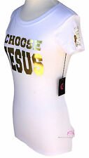 Love Beauty for Ashes Womens Girls Choose Jesus Be Saved Anointed Prayer T-Shirt