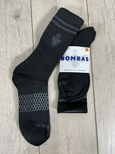 Bombas Unisex Adult Bee Better Mid Calf High Socks Size Large