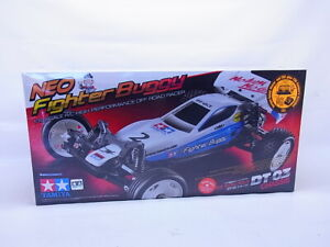 69349 Tamiya RC 58587 Neo Fighter Buggy DT-03 off Road 1:10 Kit New Boxed
